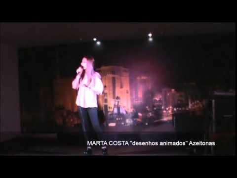 """Marta Costa """"desenhos animados"""" Azeitonas"""