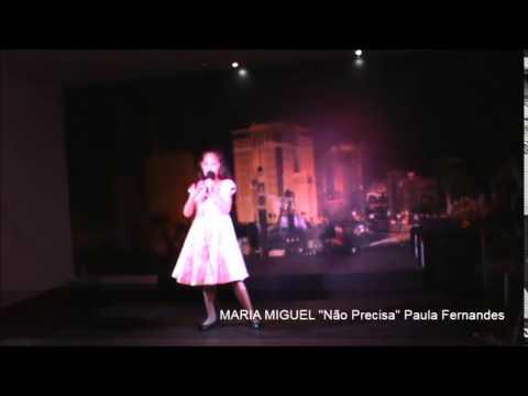 """Maria Miguel """"Não precisa"""" Paula Fernandes"""