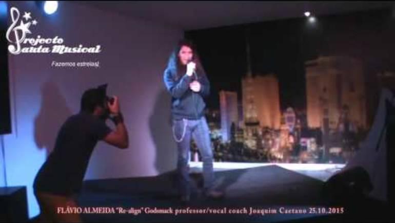 """Flávio Almeida """"Re align"""" Godsmack"""