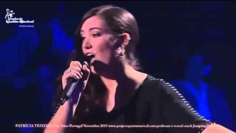 "Patrícia Teixeira The Voice Portugal ""Don´t Give Up"""
