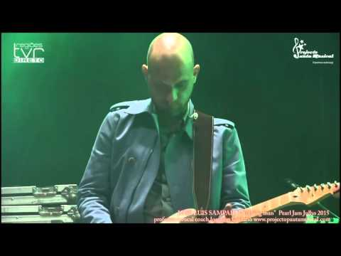 "José Luis Sampaio ""Nothing Man"" Pearl Jam"