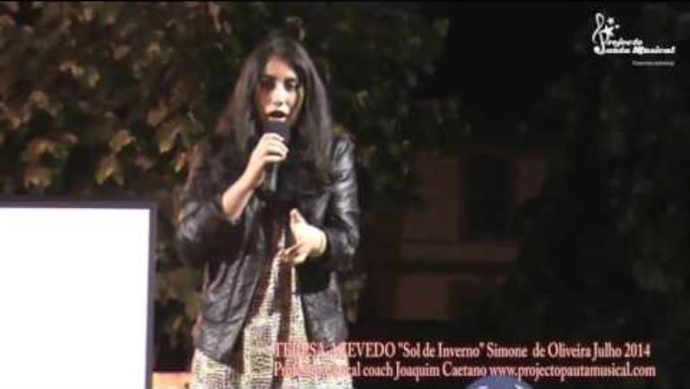 """Teresa Azevedo """"Sol de Inverno"""" Simone de Oliveira"""