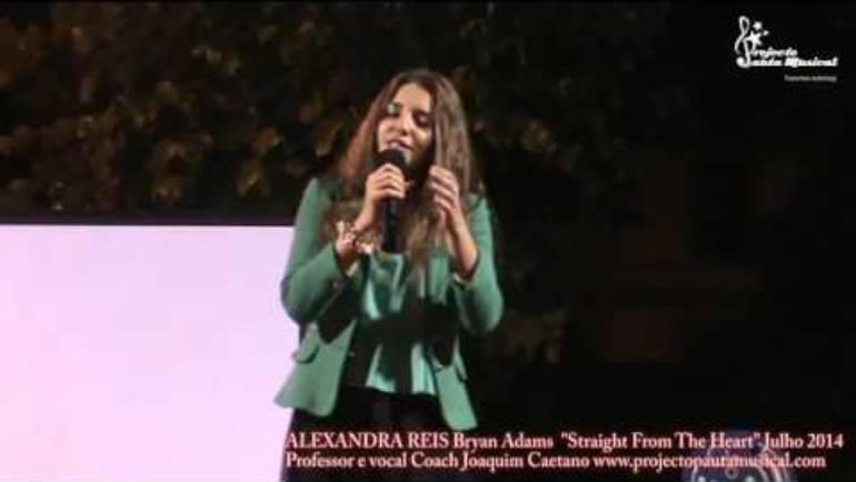 Alexandra Reis Bryan Adams Straight From The Heart