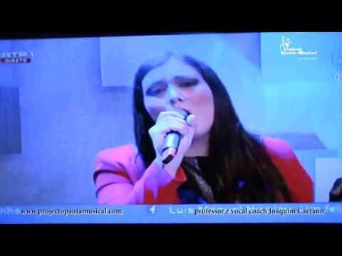 """""""It´s a man's world"""" Patrícia Teixeira passagem d'ano 2015 RTP1"""