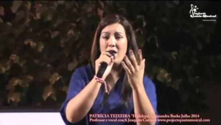 """Patrícia Teixeira """"Hellelujah"""" Alexandra Burke"""