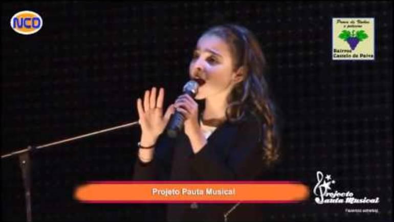"""Sara Monteiro """"Flashlight"""" Jessie J 12-03-2016"""