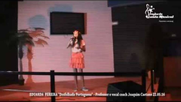 "Eduarda Pereira ""Desfolhada portuguesa"" Simone de Oliveira"