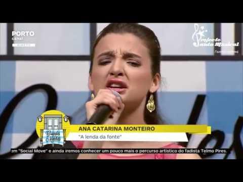 """Catarina Monteiro """"Lenda da Fonte"""" – Porto Canal – Caixa Ribeira abril 2016"""