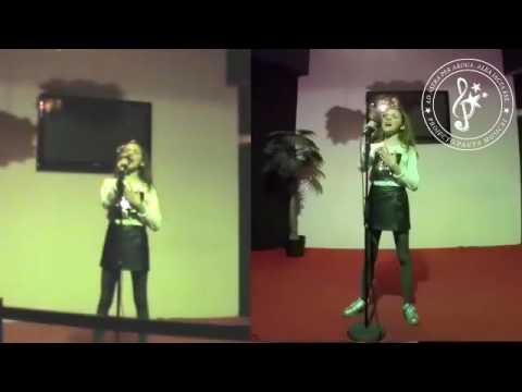 """Sara Monteiro """"Dancing on my own"""" Calum Scott"""